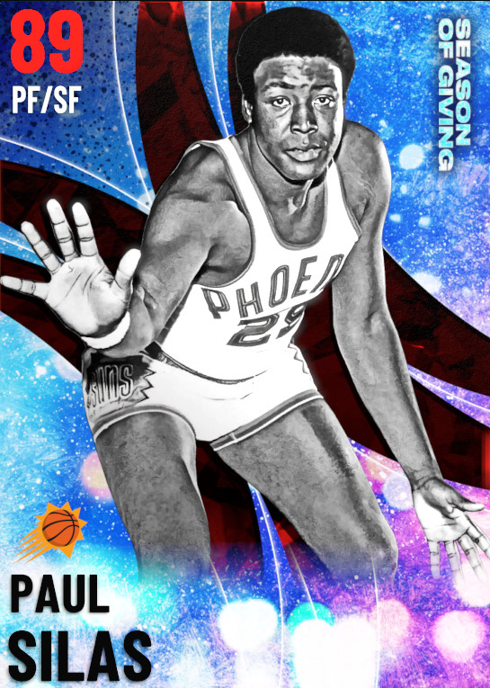 89 Paul Silas | undefined