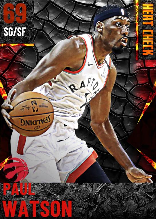 69 Paul Watson | Toronto Raptors