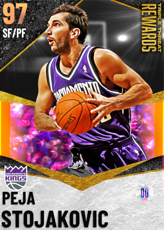 97 Peja Stojakovic | TT Offline Rewards