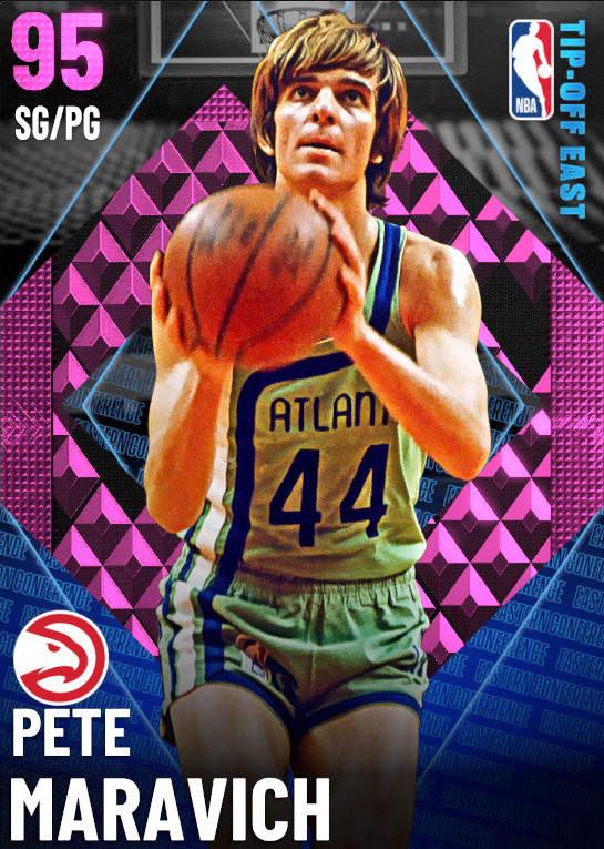 95 Pete Maravich | undefined