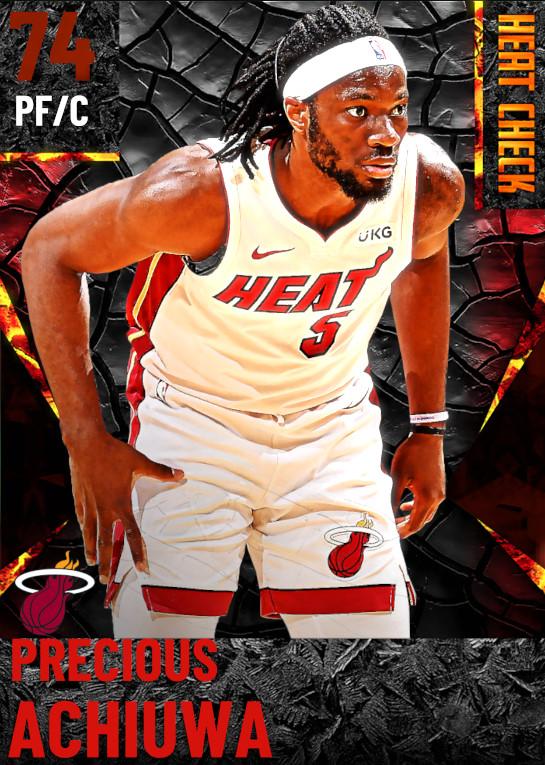 74 Precious Achiuwa | Miami Heat