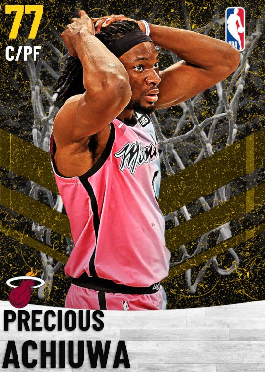 77 Precious Achiuwa   Miami Heat