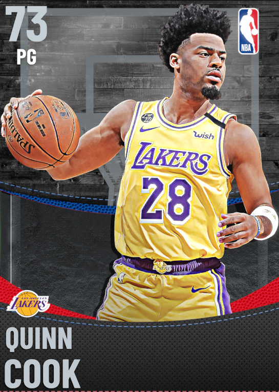 73 Quinn Cook | Los Angeles Lakers