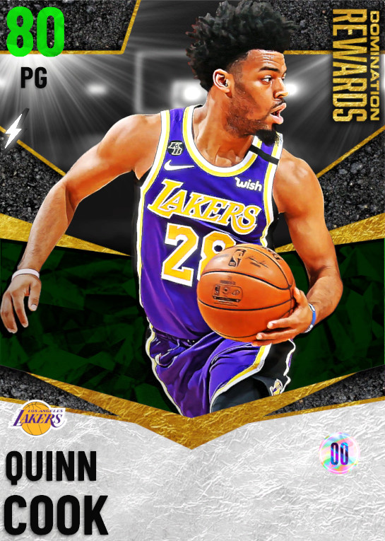 80 Quinn Cook   Domination Rewards