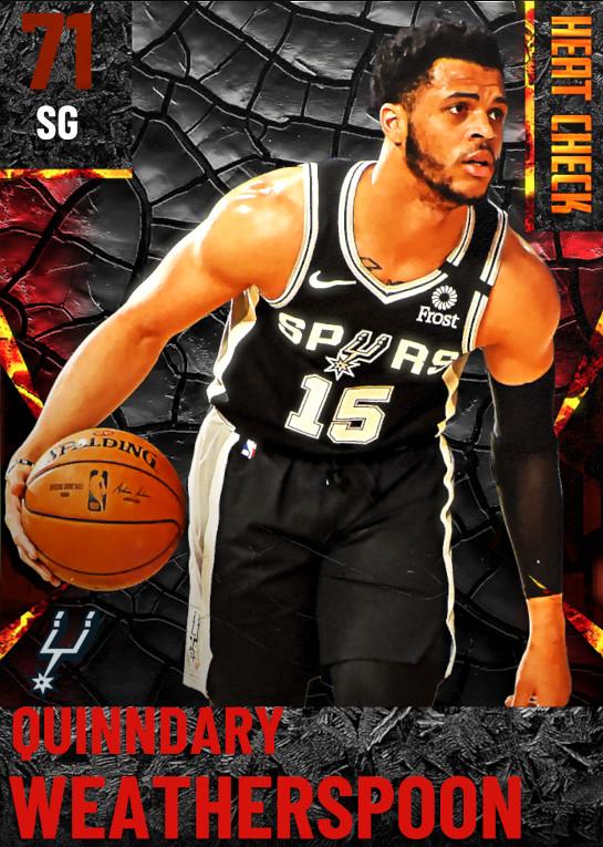 71 Quinndary Weatherspoon | San Antonio Spurs