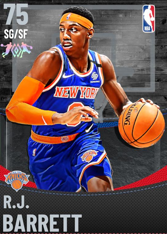 75 R.J. Barrett | New York Knicks