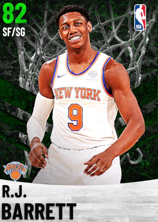 82 R.J. Barrett   New York Knicks