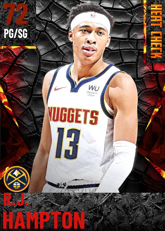 72 R.J. Hampton | Denver Nuggets