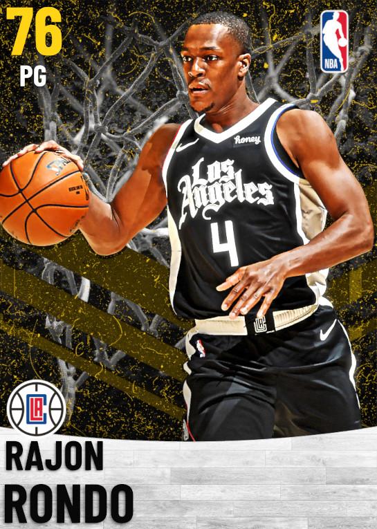 76 Rajon Rondo   Los Angeles Clippers