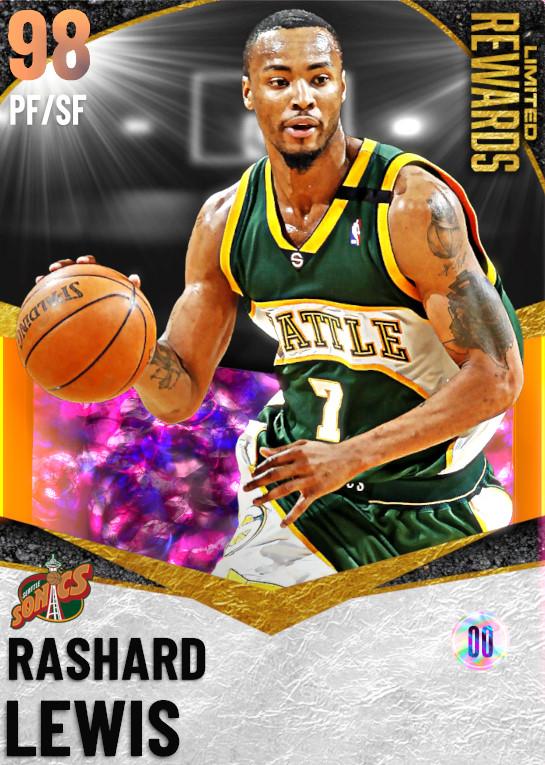 98 Rashard Lewis | Limited Rewards