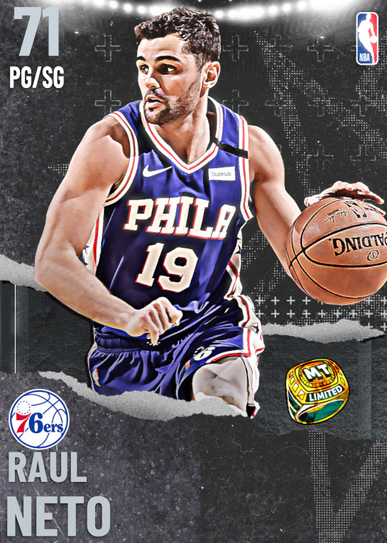 71 Raul Neto   Philadelphia 76ers