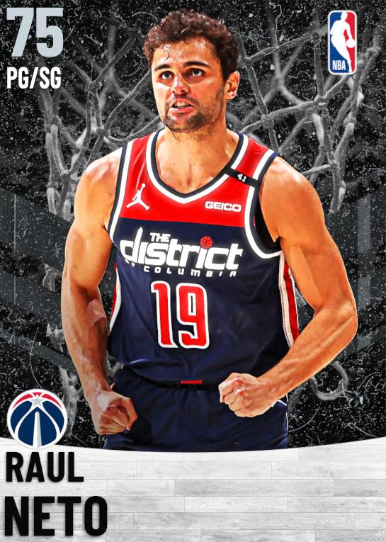 75 Raul Neto   Washington Wizards