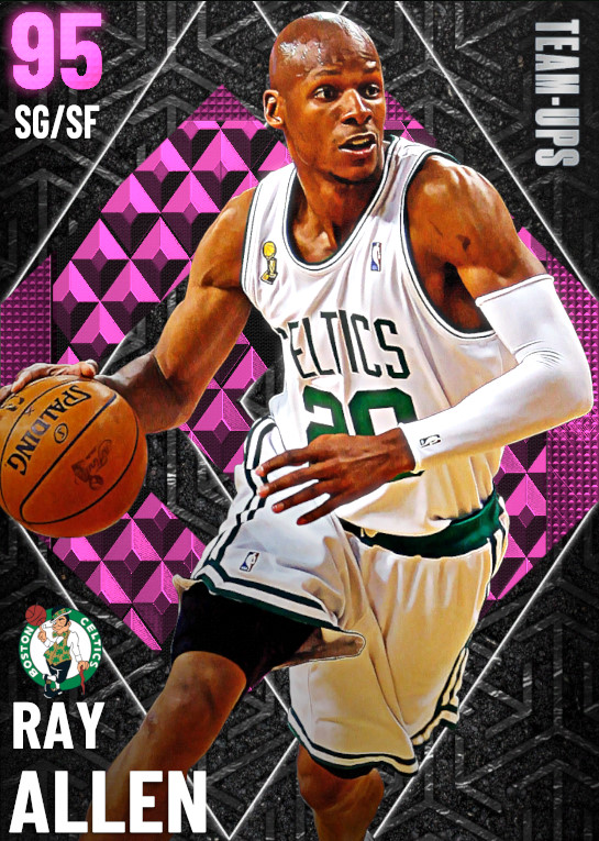 NBA 2K21 | 2KDB PD Ray Allen (95) Complete Stats
