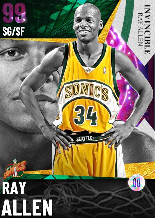 99 DARK MATTER Ray Allen