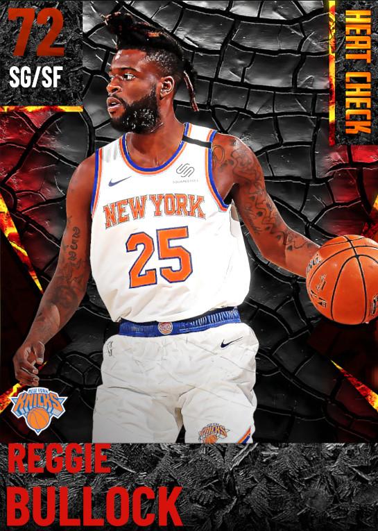 72 Reggie Bullock | New York Knicks