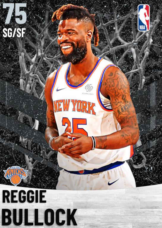 75 Reggie Bullock   New York Knicks
