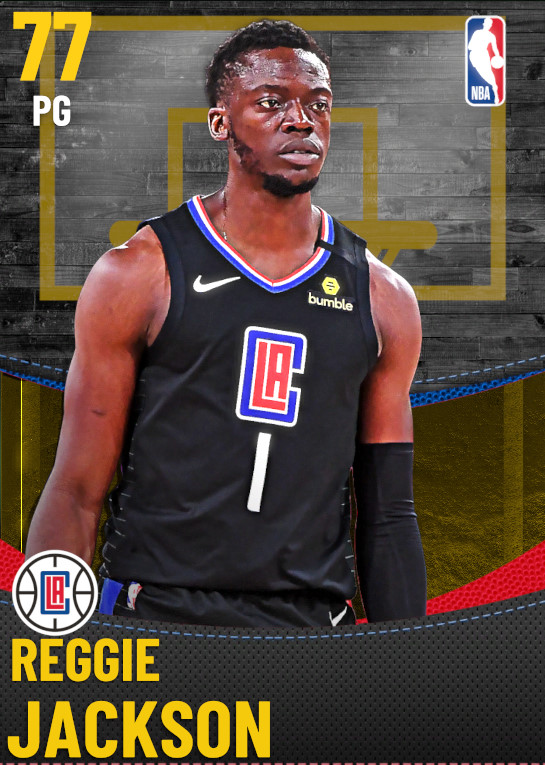 77 Reggie Jackson | Los Angeles Clippers
