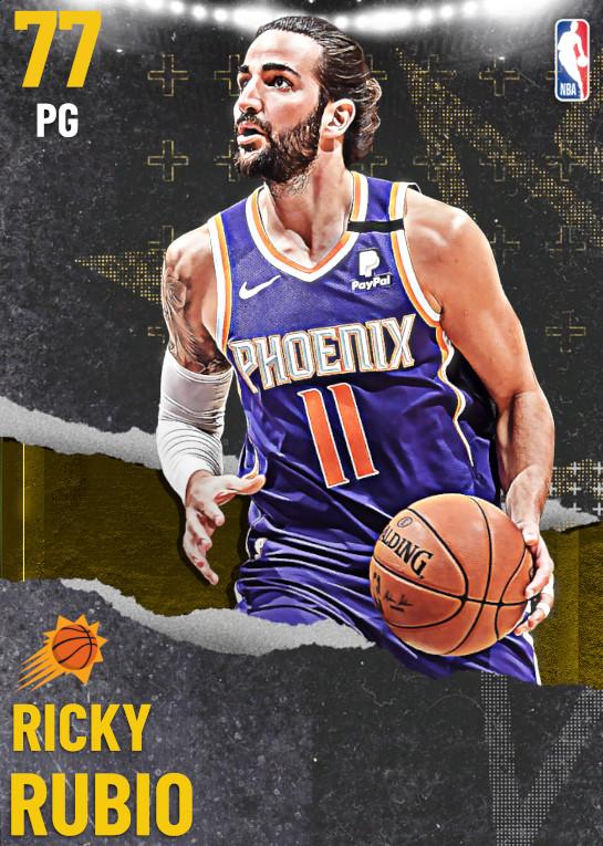 77 Ricky Rubio | undefined