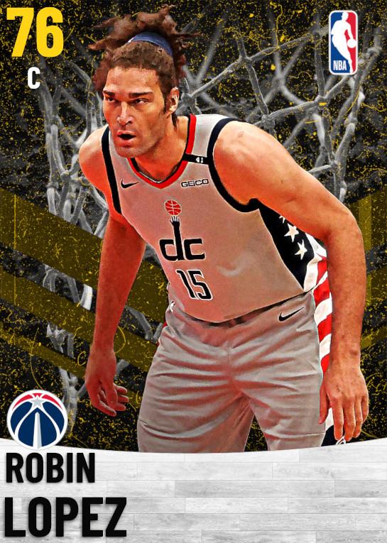 76 Robin Lopez   Washington Wizards
