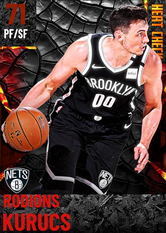 71 Rodions Kurucs | Brooklyn Nets