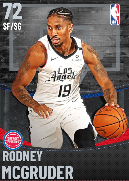 72 Rodney McGruder | Detroit Pistons
