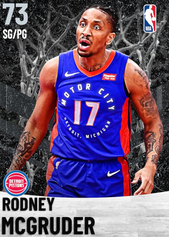 73 Rodney McGruder   Detroit Pistons