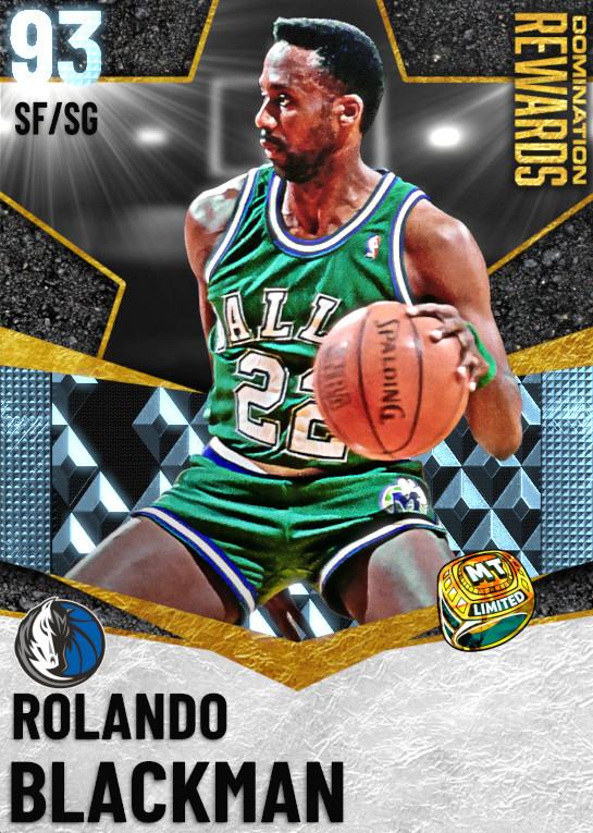 93 Rolando Blackman   Domination Rewards