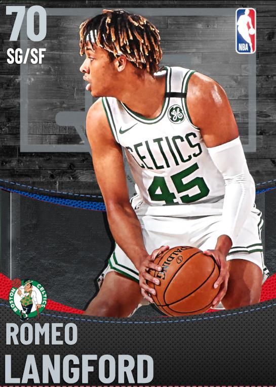 70 Romeo Langford | Boston Celtics