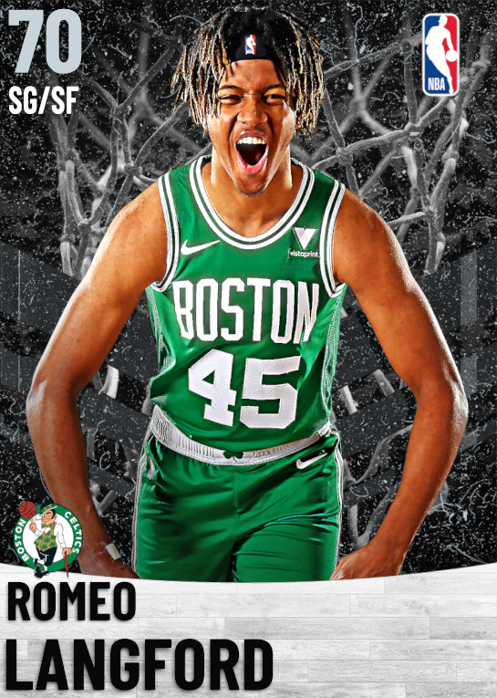 70 Romeo Langford   Boston Celtics
