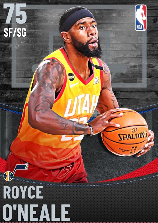 75 Royce O'Neale | Utah Jazz