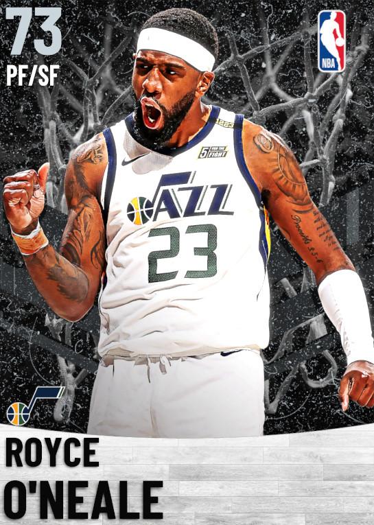 73 Royce O'Neale   Utah Jazz