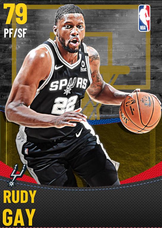79 Rudy Gay | San Antonio Spurs