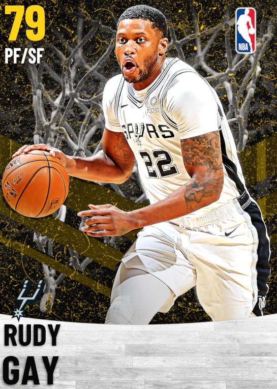 79 Rudy Gay   San Antonio Spurs