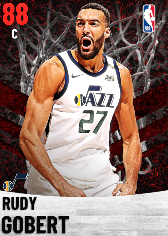 88 Rudy Gobert   Utah Jazz