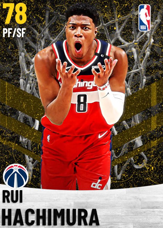 78 Rui Hachimura   Washington Wizards