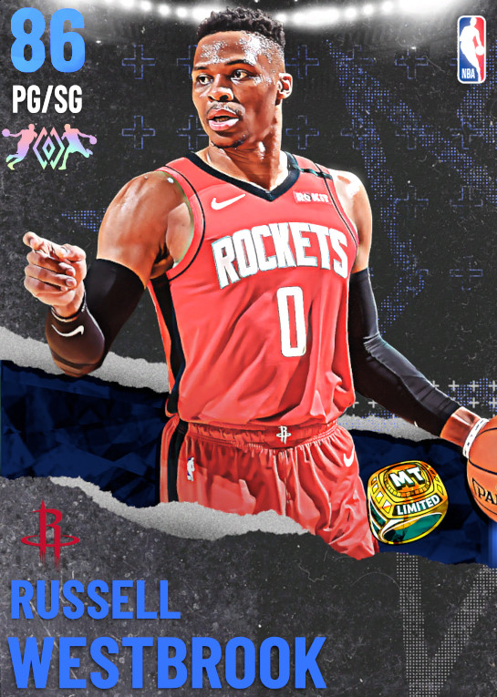 86 Russell Westbrook | undefined