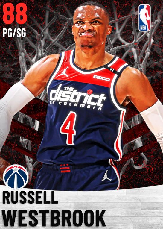 88 Russell Westbrook   Washington Wizards