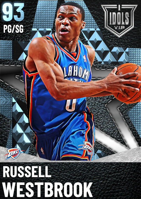 93 Russell Westbrook | undefined