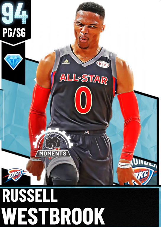 94 Russell Westbrook | undefined