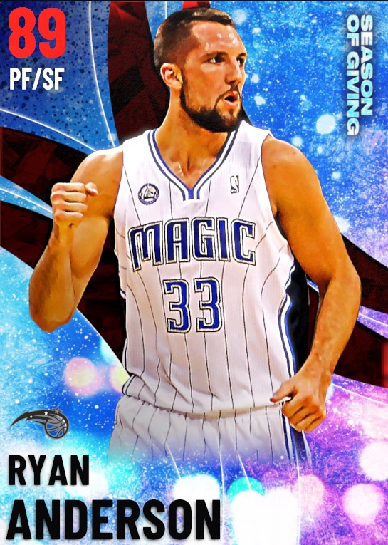 89 Ryan Anderson | undefined