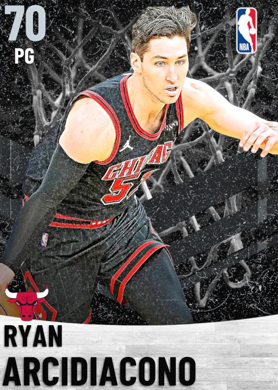 70 Ryan Arcidiacono   Chicago Bulls