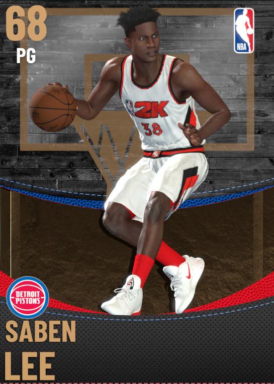 68 Saben Lee | Detroit Pistons