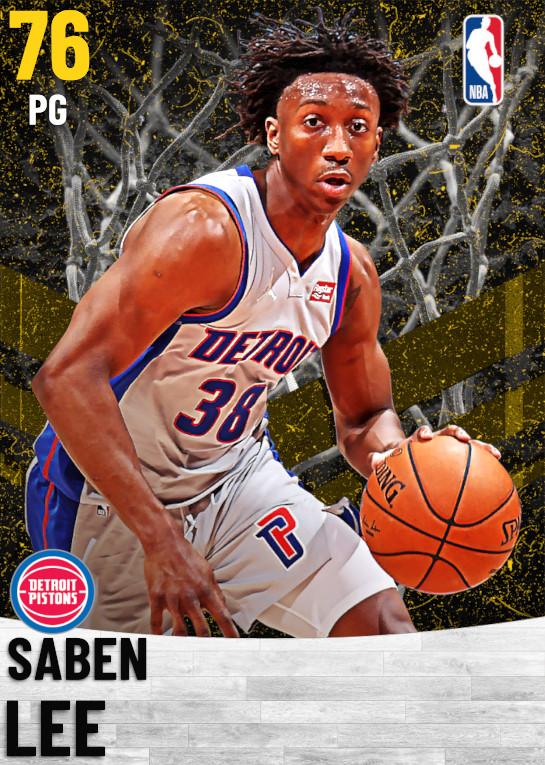 76 Saben Lee   Detroit Pistons