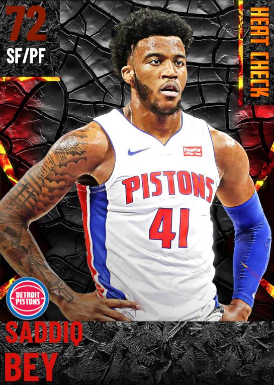 72 Saddiq Bey | Detroit Pistons
