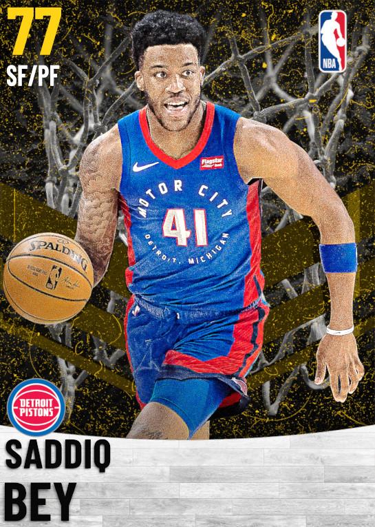 77 Saddiq Bey   Detroit Pistons