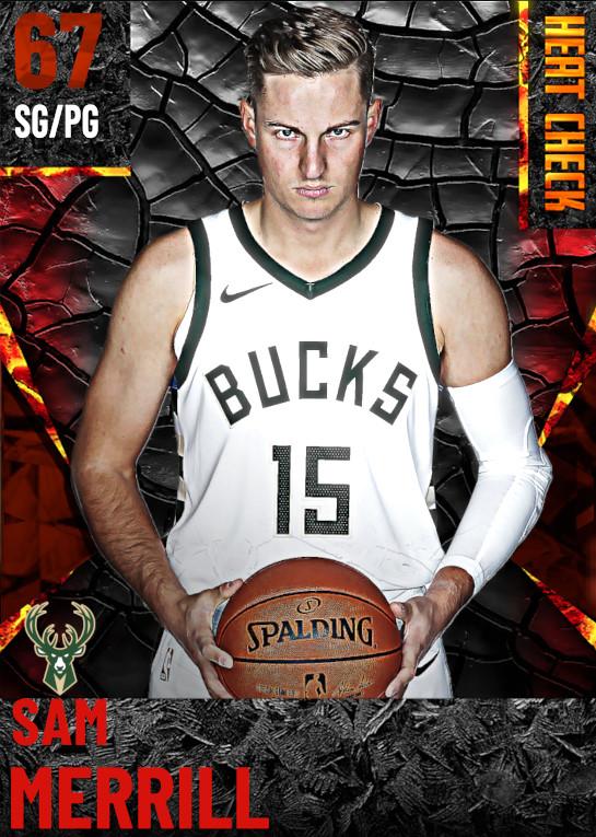 67 Sam Merrill | Milwaukee Bucks