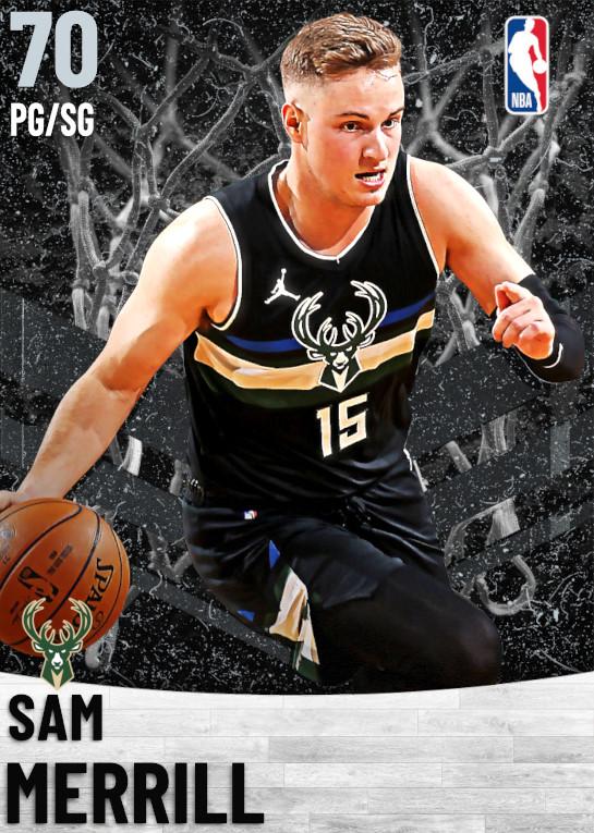70 Sam Merrill   Milwaukee Bucks