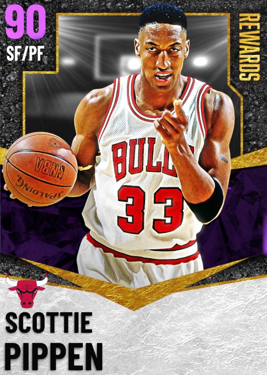 90 Scottie Pippen | undefined