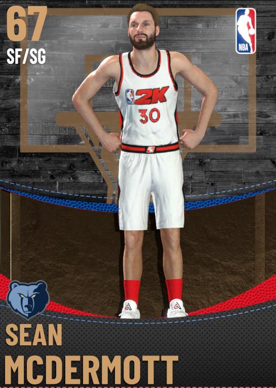 67 Sean McDermott | Memphis Grizzlies