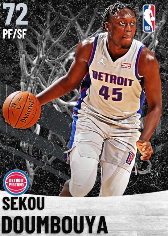 72 Sekou Doumbouya   Detroit Pistons